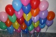 Гелиевые шары в Астане.Выписка из роддома.